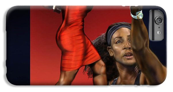 Sensuality Under Extreme Power - Serena The Shape Of Things To Come IPhone 6 Plus Case by Reggie Duffie