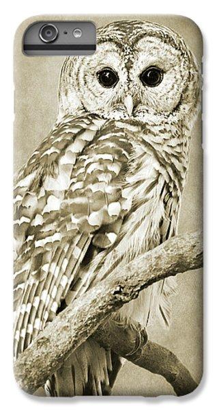 Sepia Owl IPhone 6 Plus Case