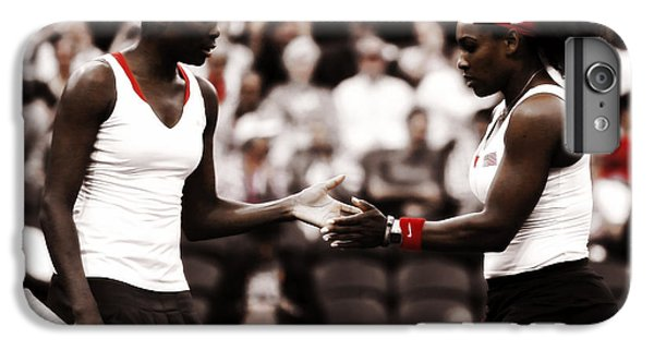 Venus Williams iPhone 6 Plus Case - Serena And Venus Williams by Brian Reaves
