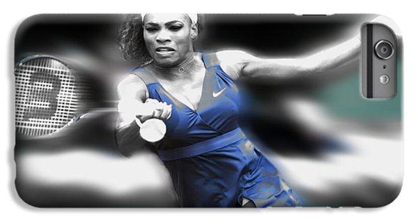 Venus Williams iPhone 6 Plus Case - Serena On The Move by Brian Reaves