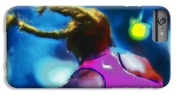 Venus Williams iPhone 6 Plus Case - Serena Smash by Brian Reaves