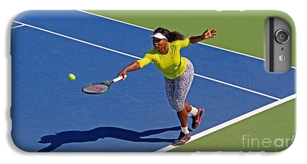 Serena Williams 1 IPhone 6 Plus Case by Nishanth Gopinathan