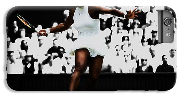 Venus Williams iPhone 6 Plus Case - Serena Williams 14p by Brian Reaves