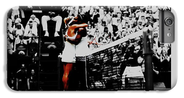 Serena Williams And Angelique Kerber IPhone 6 Plus Case by Brian Reaves