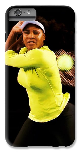 Serena Williams Bamm IPhone 6 Plus Case by Brian Reaves