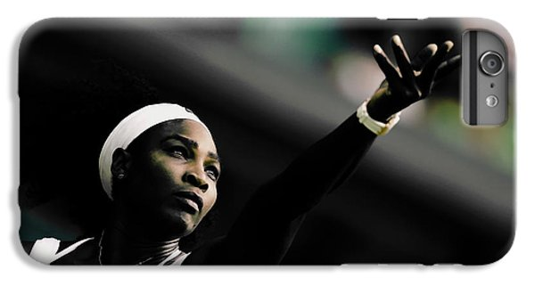 Venus Williams iPhone 6 Plus Case - Serena Williams Commitment And Passion by Brian Reaves