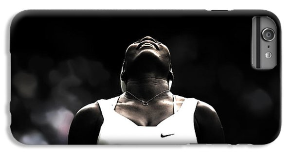 Venus Williams iPhone 6 Plus Case - Serena Williams Quote 2a by Brian Reaves