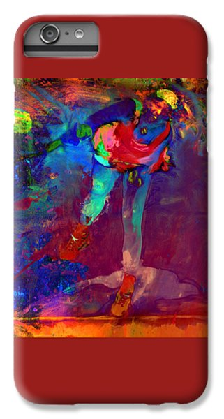 Serena Williams Return Explosion IPhone 6 Plus Case by Brian Reaves