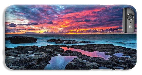 Pacific Ocean iPhone 6 Plus Case - Serene Sunset by Robert Bynum