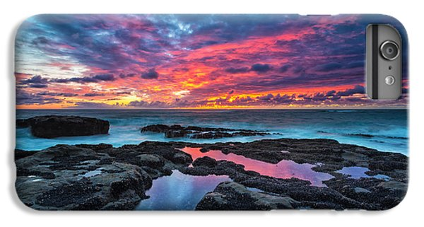 Landscape iPhone 6 Plus Case - Serene Sunset by Robert Bynum