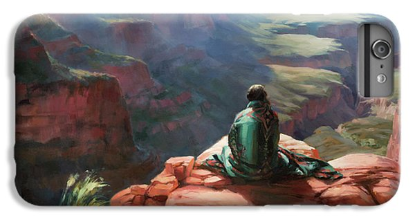 Grand Canyon iPhone 6 Plus Case - Serenity by Steve Henderson