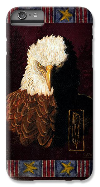 Eagle iPhone 6 Plus Case - Shadow Eagle by JQ Licensing