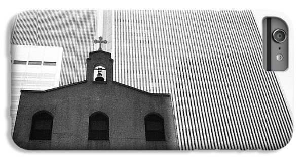 Shadow Of World Trade Center IPhone 6 Plus Case by Dave Beckerman