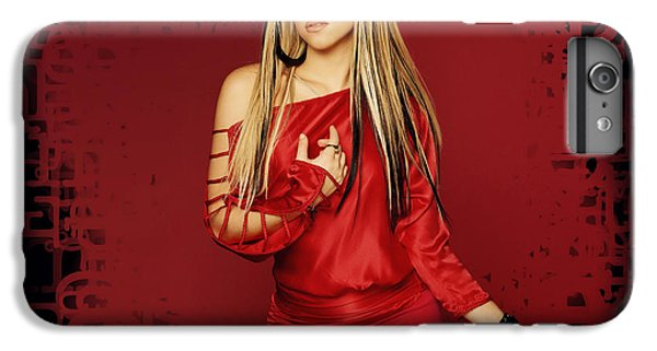 Shakira iPhone 6 Plus Case - Shakira 34 by Emma Brown