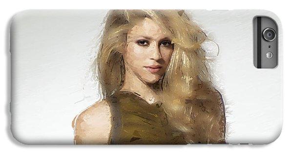 Shakira IPhone 6 Plus Case by Iguanna Espinosa