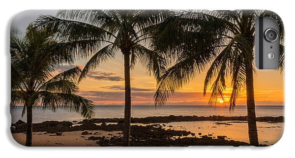 Pacific Ocean iPhone 6 Plus Case - Sharks Cove Sunset 4 - Oahu Hawaii by Brian Harig