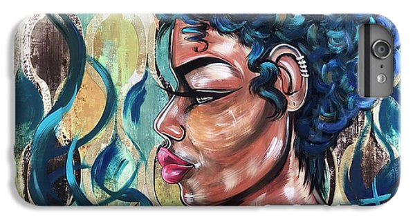 iPhone 6 Plus Case - She Was A Cool Flame by Artist RiA