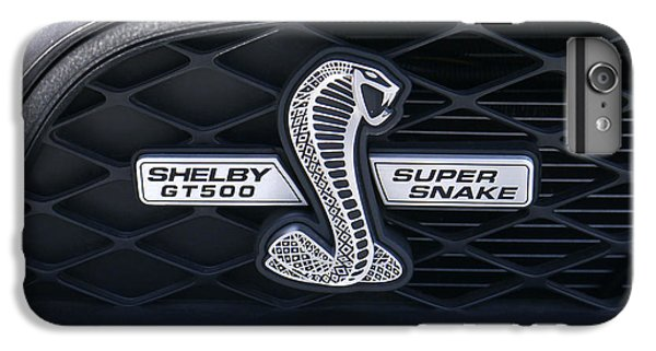 Brown Snake iPhone 6 Plus Case - Shelby Gt 500 Super Snake by Mike McGlothlen