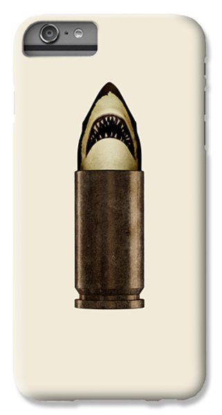 Sharks iPhone 6 Plus Case - Shell Shark by Nicholas Ely