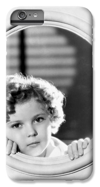 Shirley Temple (1928-2014) IPhone 6 Plus Case by Granger