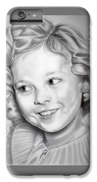 Shirley Temple IPhone 6 Plus Case by Fred Larucci
