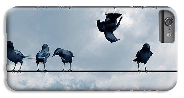 Blue iPhone 6 Plus Case - Show Off by Cynthia Decker