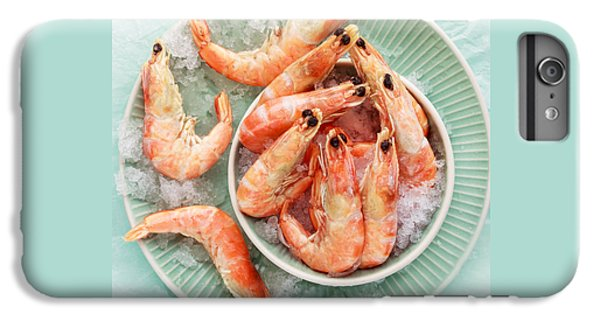 Shrimp On A Plate IPhone 6 Plus Case by Anfisa Kameneva