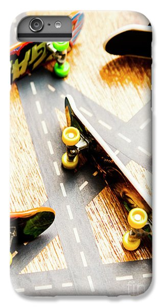 Truck iPhone 6 Plus Case - Side Streets Of Skate by Jorgo Photography - Wall Art Gallery