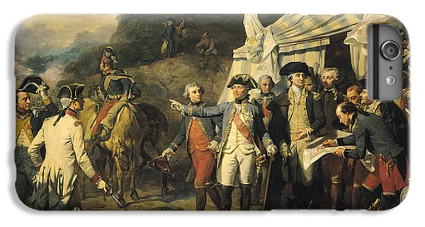 Siege Of Yorktown IPhone 6 Plus Case by Louis Charles Auguste  Couder