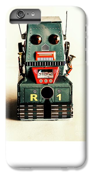 Simple Robot From 1960 IPhone 6 Plus Case