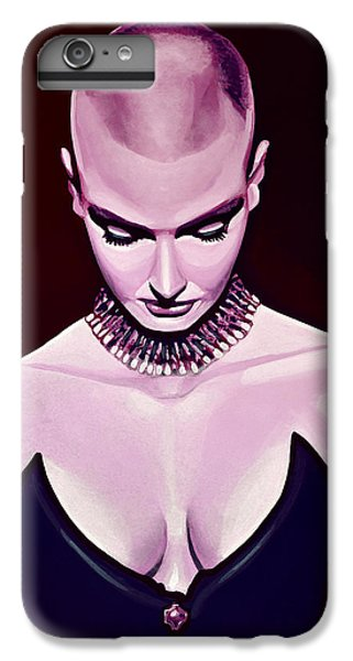 Lion Head iPhone 6 Plus Case - Sinead O'connor by Paul Meijering