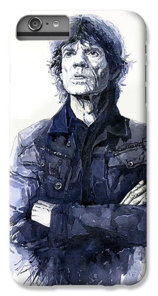 Figurative iPhone 6 Plus Case - Sir Mick Jagger by Yuriy Shevchuk