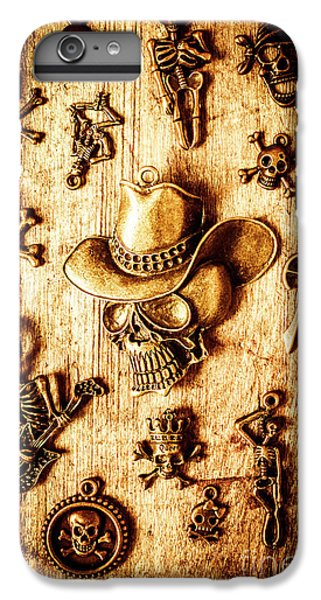 IPhone 6 Plus Case featuring the photograph Skeleton Pendant Party by Jorgo Photography - Wall Art Gallery