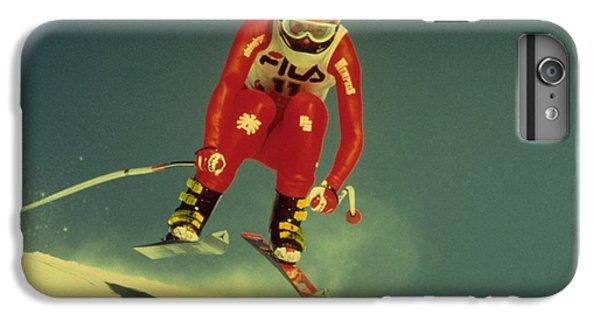 Skiing In Crans Montana IPhone 6 Plus Case