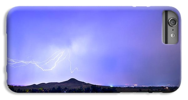 IPhone 6 Plus Case featuring the photograph Sky Monster Above Haystack Mountain by James BO Insogna