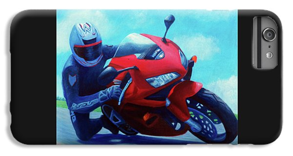 Sky Pilot - Honda Cbr600 IPhone 6 Plus Case by Brian  Commerford