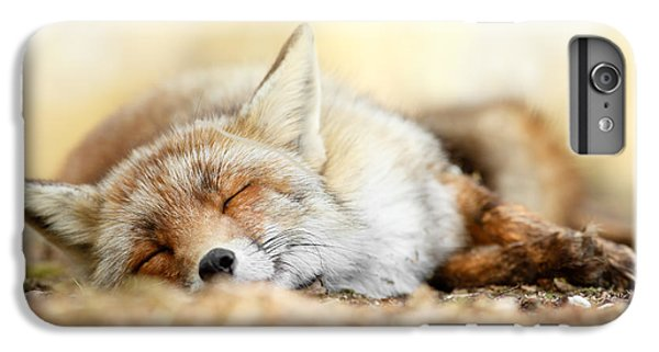 Sleeping Beauty -red Fox In Rest IPhone 6 Plus Case