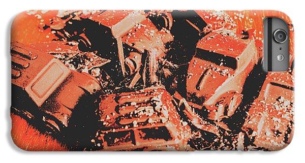 Truck iPhone 6 Plus Case - Smashem Crashem Cars by Jorgo Photography - Wall Art Gallery