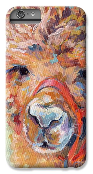 Llama iPhone 6 Plus Case - Snickers by Kimberly Santini