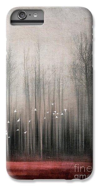 Bunting iPhone 6 Plus Case - Snow Birds by Priska Wettstein