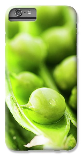 Snow Peas Or Green Peas Seeds IPhone 6 Plus Case by Vishwanath Bhat