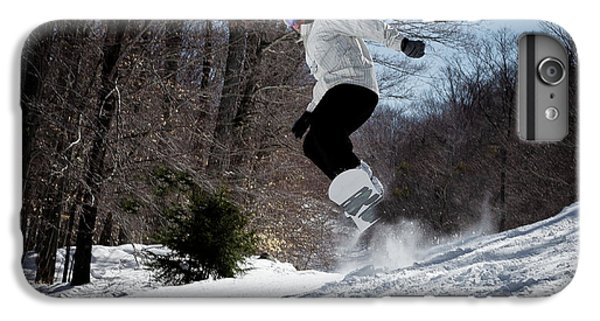 IPhone 6 Plus Case featuring the photograph Snowboarding Mccauley Mountain by David Patterson