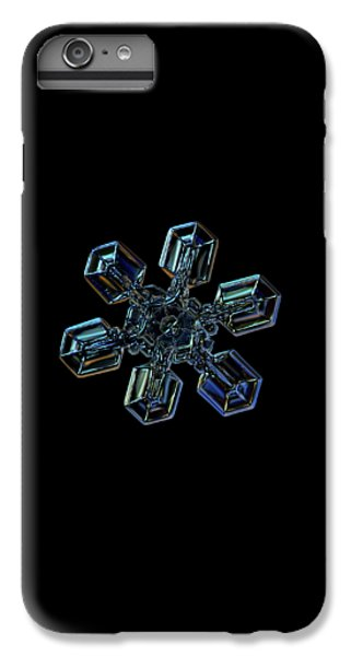 Snowflake Photo - High Voltage IIi IPhone 6 Plus Case by Alexey Kljatov