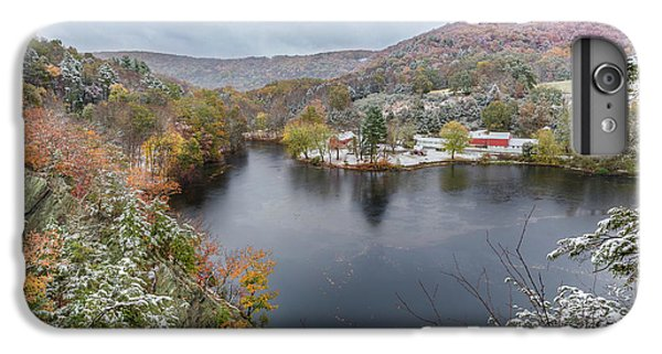 IPhone 6 Plus Case featuring the photograph Snowliage by Bill Wakeley