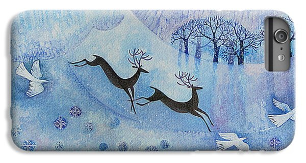 Snowy Peace IPhone 6 Plus Case by Lisa Graa Jensen