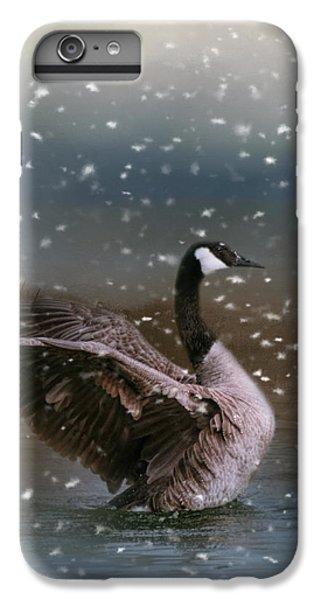 Snowy Swim IPhone 6 Plus Case by Jai Johnson