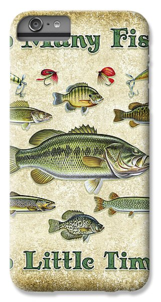 So Many Fish Sign IPhone 6 Plus Case by JQ Licensing