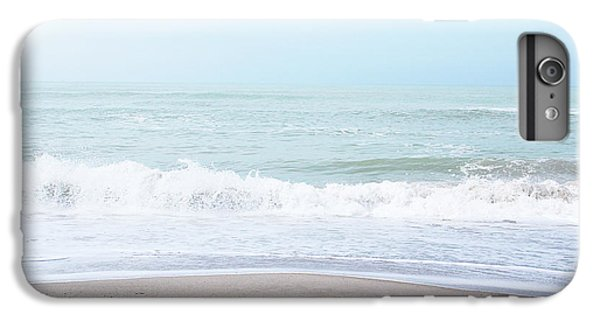 Miami iPhone 6 Plus Case - Soft Waves 2- Art By Linda Woods by Linda Woods