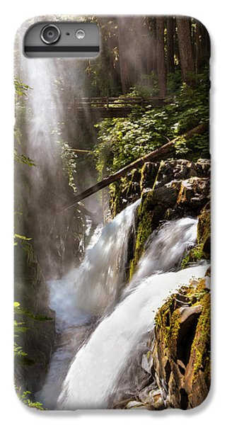 IPhone 6 Plus Case featuring the photograph Sol Duc Falls by Adam Romanowicz