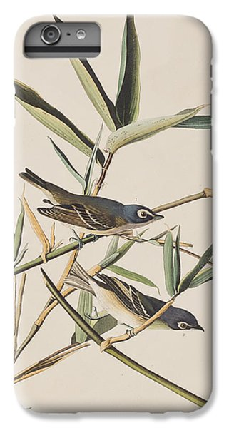 Solitary Flycatcher Or Vireo IPhone 6 Plus Case by John James Audubon